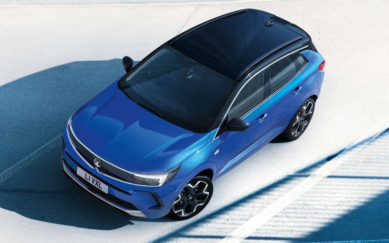 Opel представил обновленный кроссовер Grandland— фото 1252482