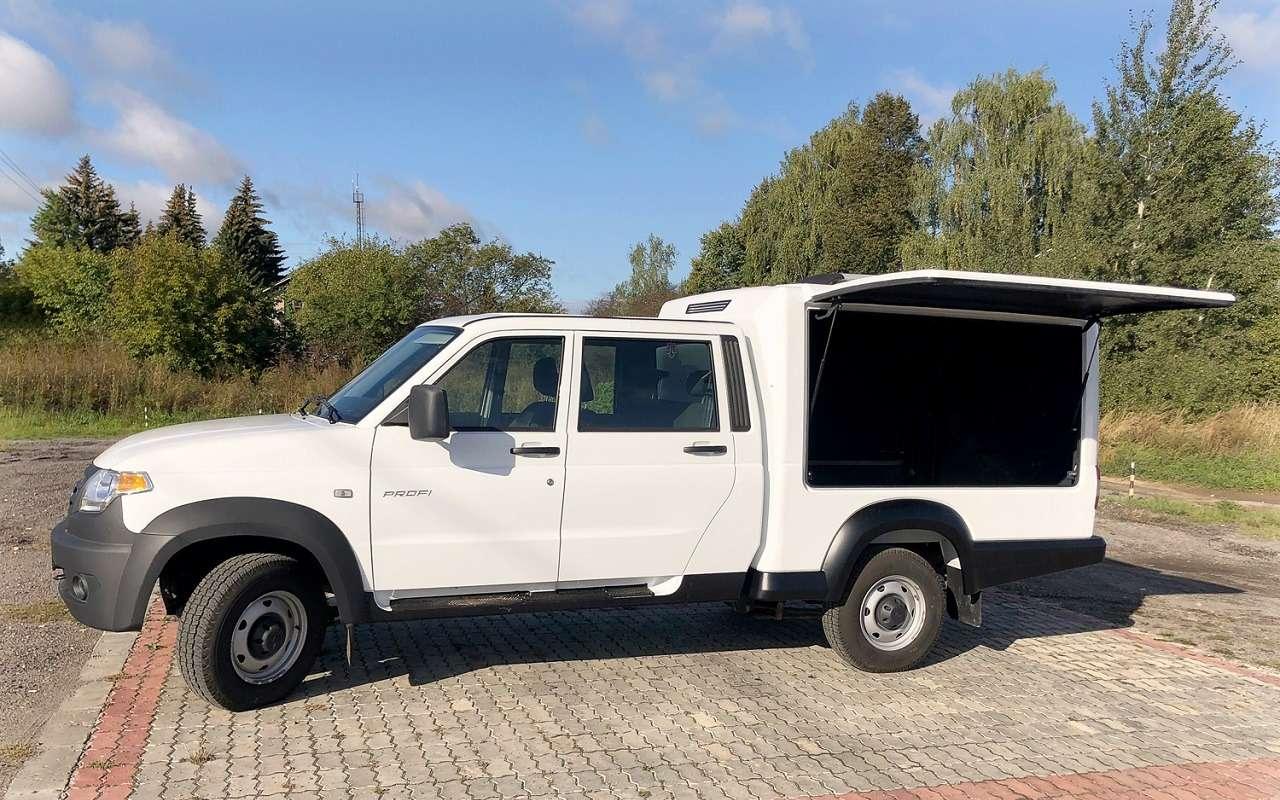Новые варианты УАЗ Профи— служебный, специальный, автодом!— фото 1236909