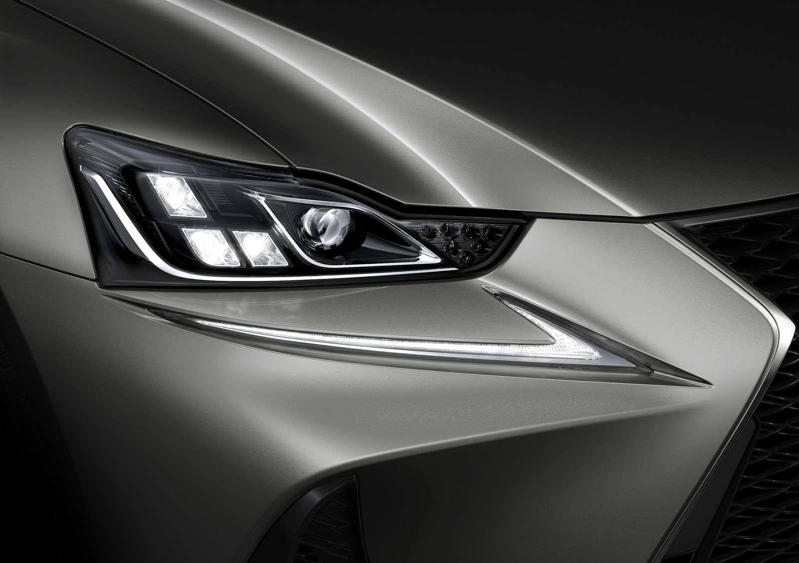 Обновленный Lexus ISвыплеснул агрессию накитайцев— фото 580156