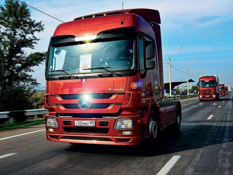Mercedes-Benz Actros: Короли большой дороги— фото 90821