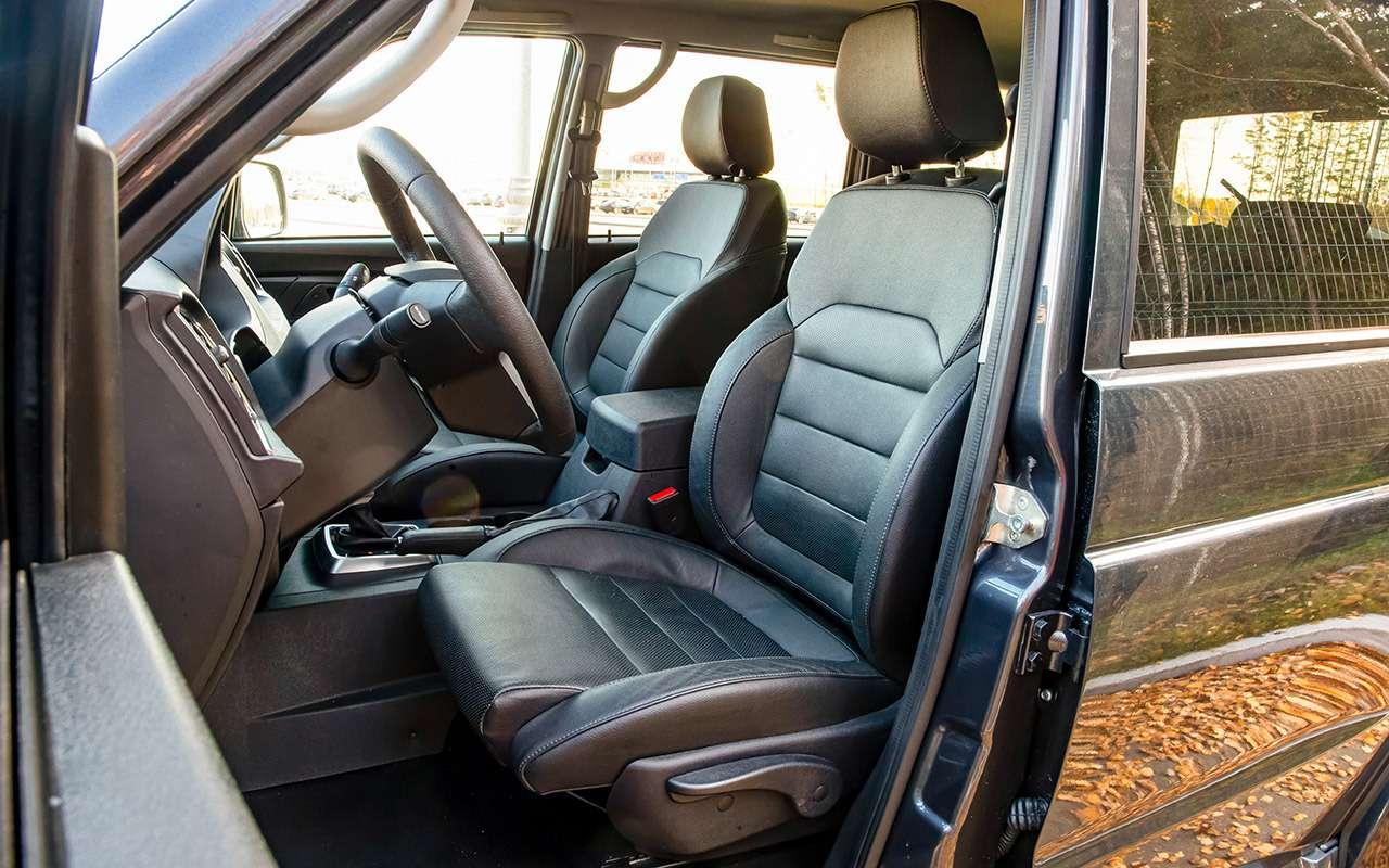 Новый УАЗ Патриот или 10-летний Land Cruiser 200: тест-драйв— фото 1058460
