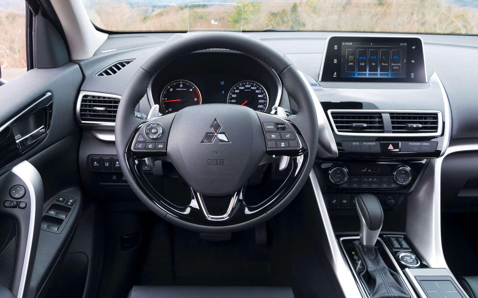 Новый кроссовер Mitsubishi появится вРоссии в2018 году— фото 804137