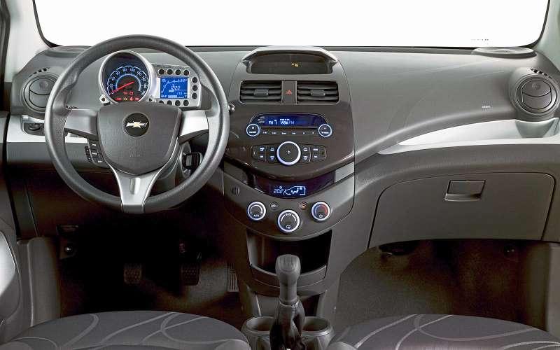 Интерьер Chevrolet Spark