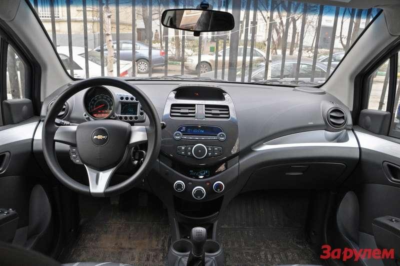 Центральная консоль Chevrolet Spark