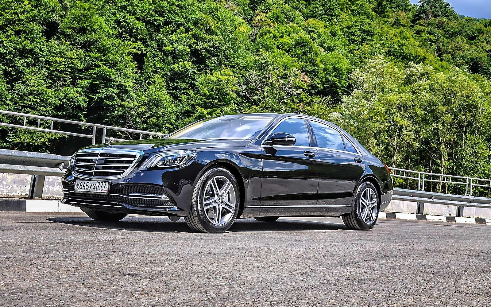 Mercedes-Benz S-класса: собновленным лицом иновыми моторами— фото 786213