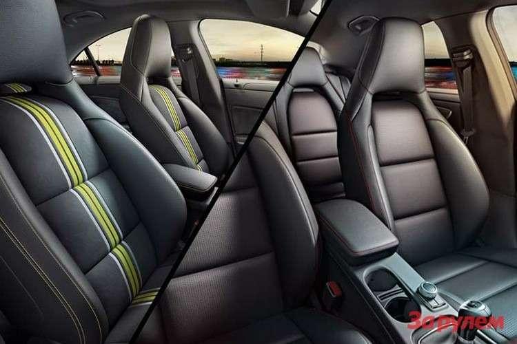 Mercedes-Benz CLA Sport inside 2
