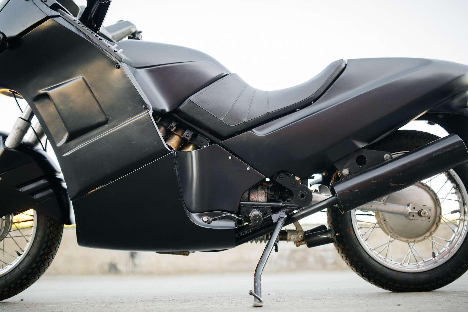 Первый советский мотоцикл сроторным двигателем: пуля сВАЗа!— фото 914951