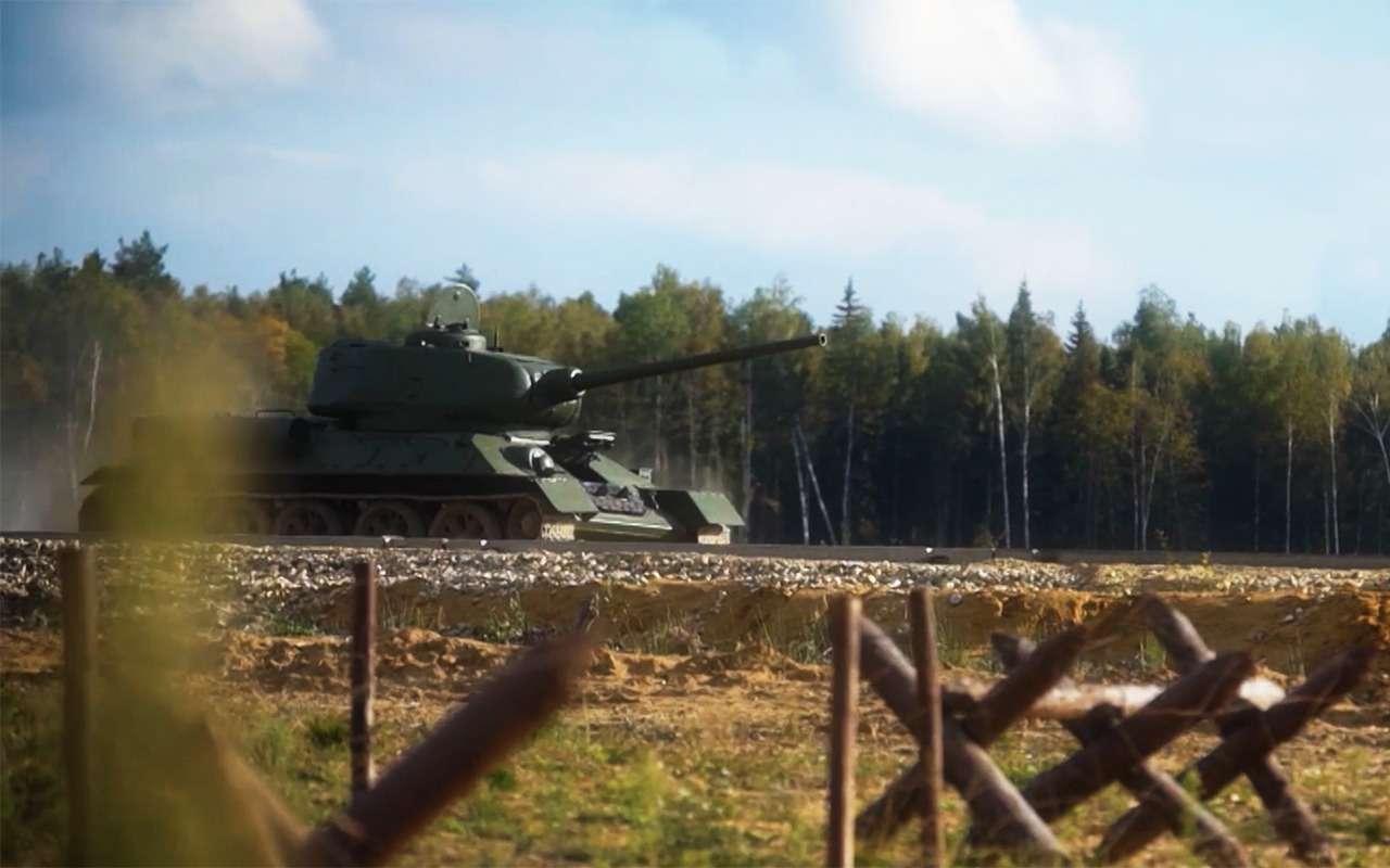 Какпоставить надыбы советский танк Т-34и другие интересные факты онем— фото 924168