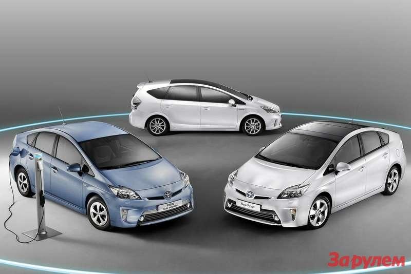 Toyota Prius Plug inHybrid 2013 1600x1200 wallpaper 0f