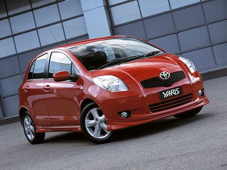 no copyright 2011 toyota yaris