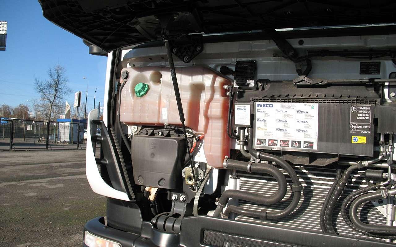 Тяжелые грузовики IVECO Trakker: все особенности— фото 1233431