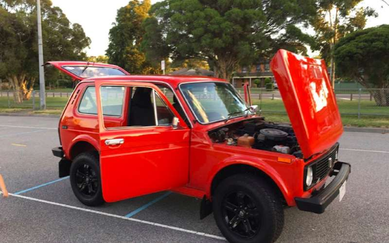 Как Lamborghini, но круче: в Австралии продают Ниву 1996 года