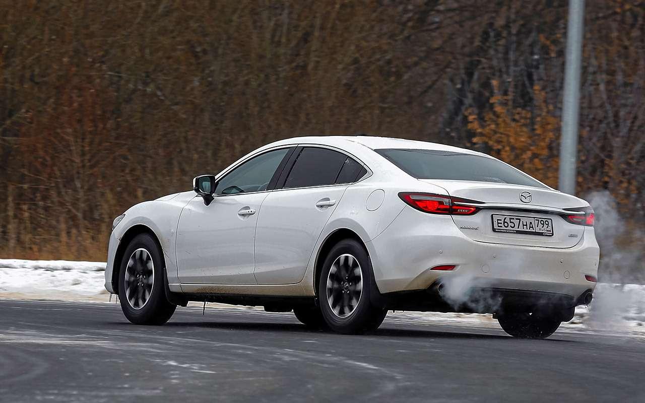 Skoda Octavia, Kia K5, Mazda 6— большой тест— фото 1221374