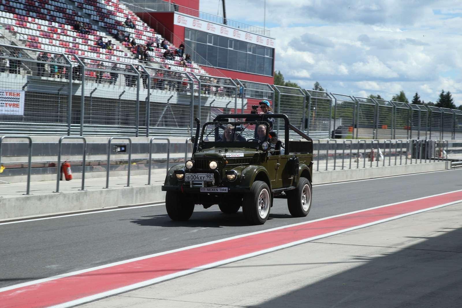Болид ГАЗ-24«Зарулем» наMoscow Classiс Grand Prix— фото 608363
