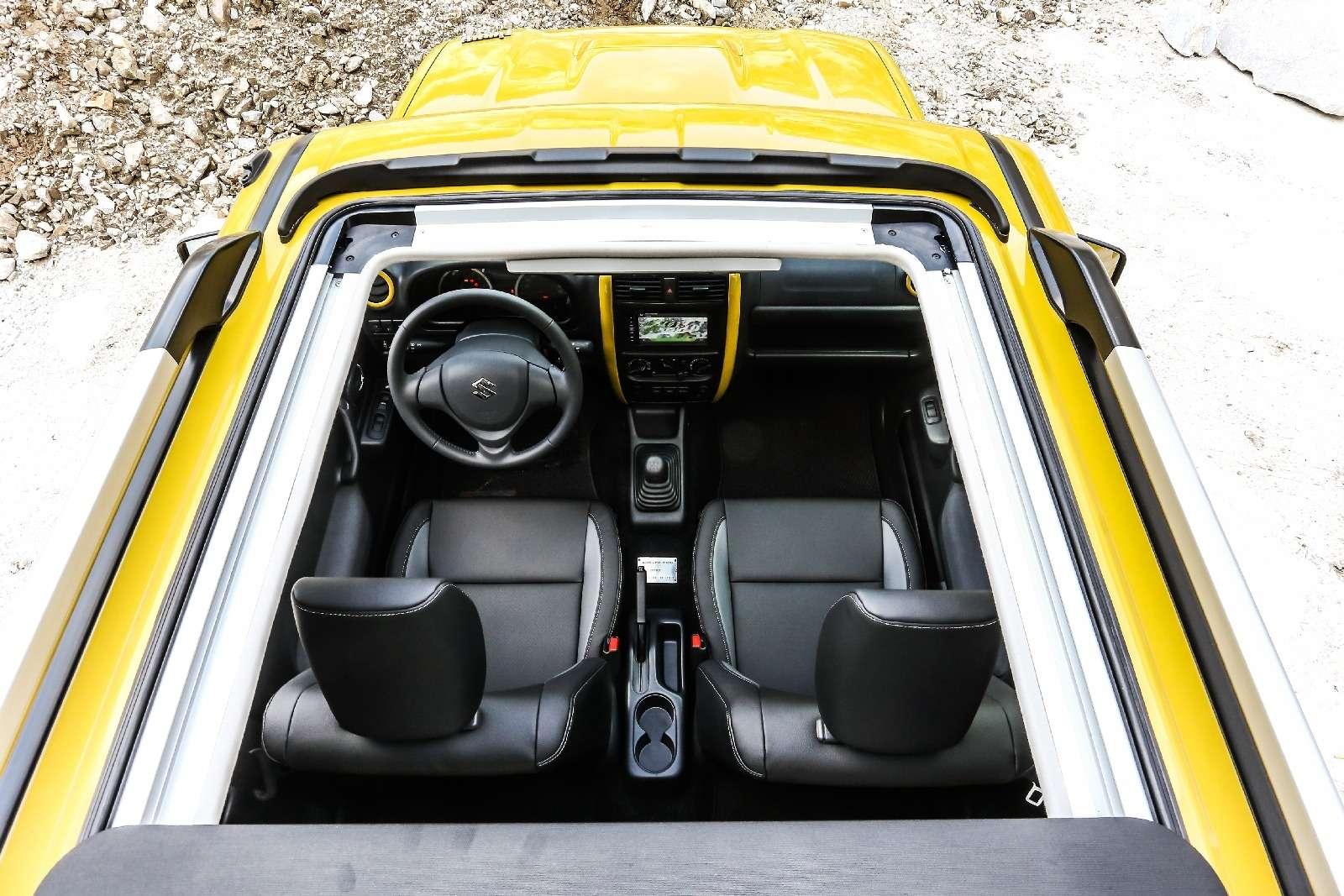 Святая простота: вышла спецверсия вседорожника Suzuki Jimny— фото 650245