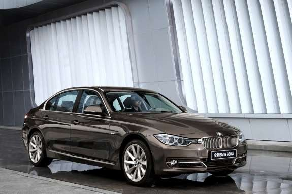 BMW 3-Series Long Wheelbase side-front view