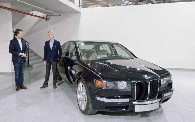 Тайный концепт BMW достали сосклада спустя 25лет