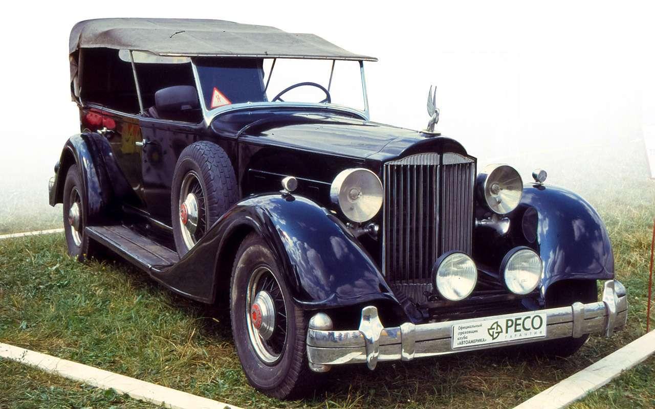 Packard Super Eight 1939: связей сэтим иностранцем можно небояться!— фото 893706