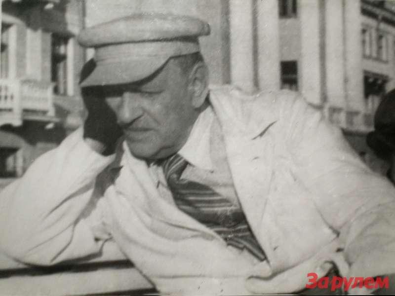 Брилинг— председатель технической комиссии дизель-пробега 1934 года. Фото изархива МВТУ, предоставлено Андреем Крюковским