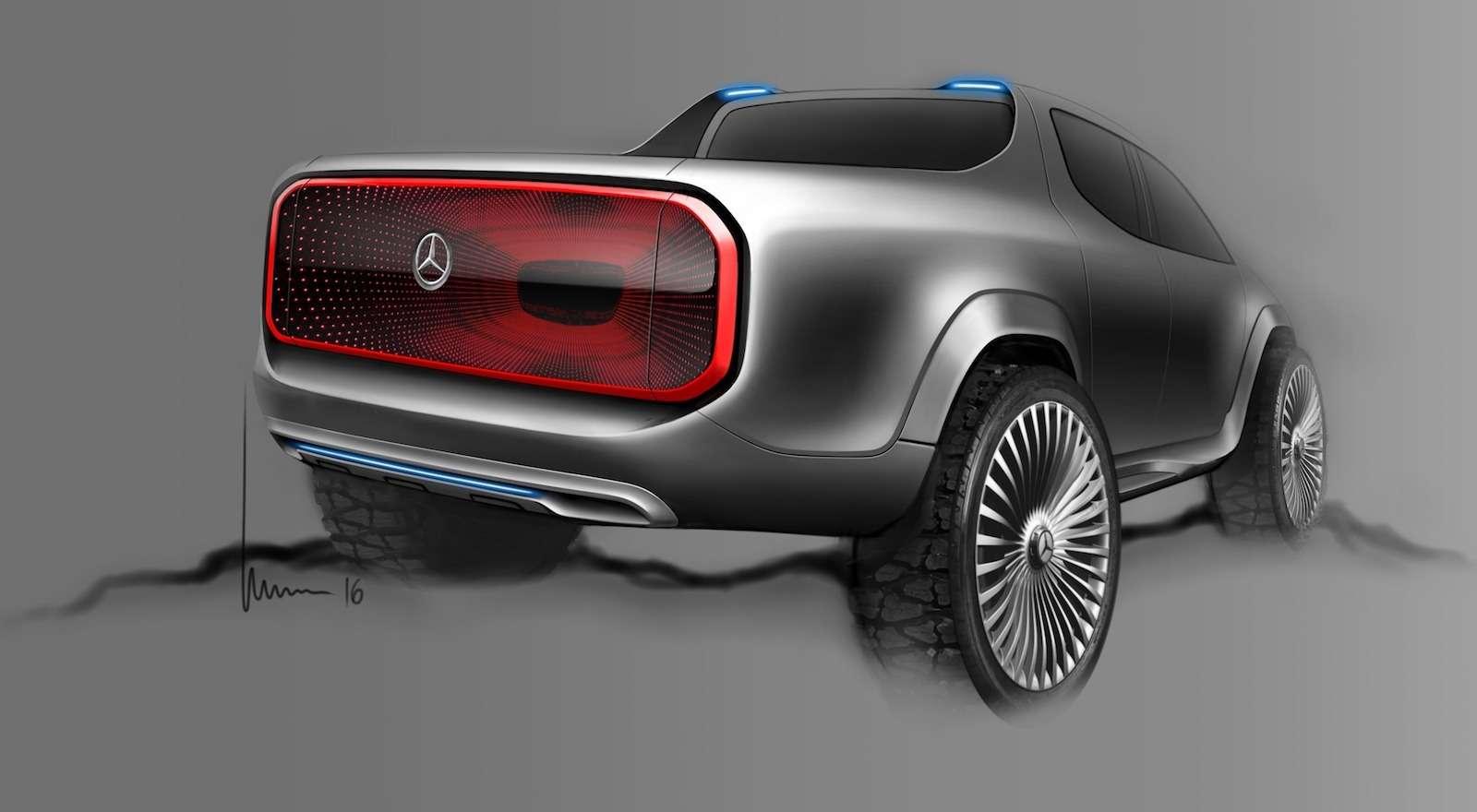Mercedes-Benz X-класса: издеревенщины вофранты— фото 672539