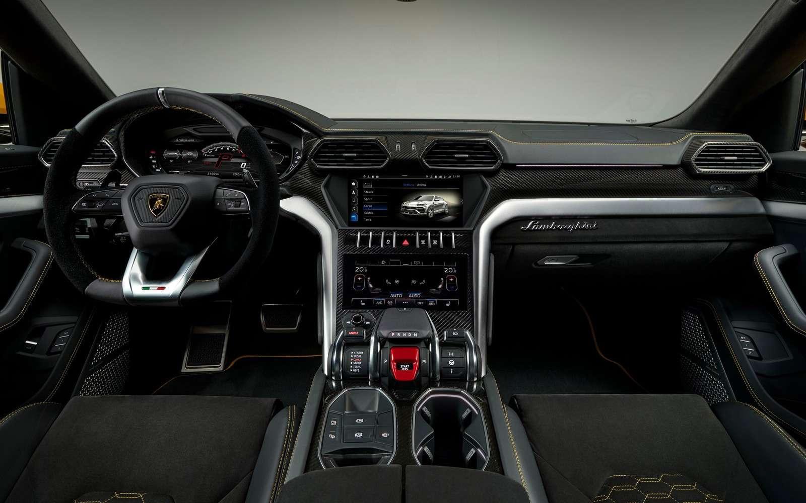 Lamborghini Urus: самый крутой кроссовер вмире— фото 823191