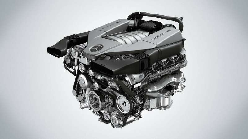 no copyright AMG V8 Motor