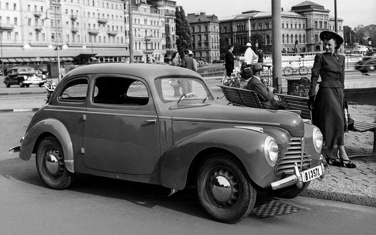 Первые Rapid и Octavia - элитная Шкода времен социализма - фото 1171682