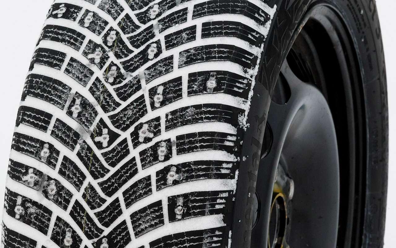 Большой тест шипованных шин: дорогие, подешевле и«никакие»— фото 1003229