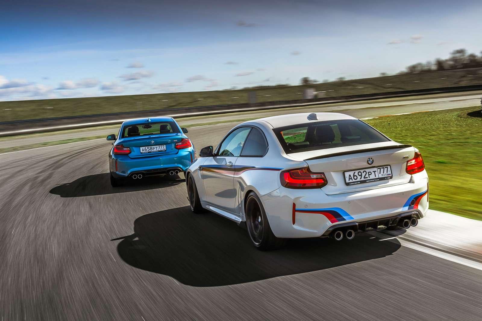 Тест BMW M2и M2Performance: донастройка— фото 596526