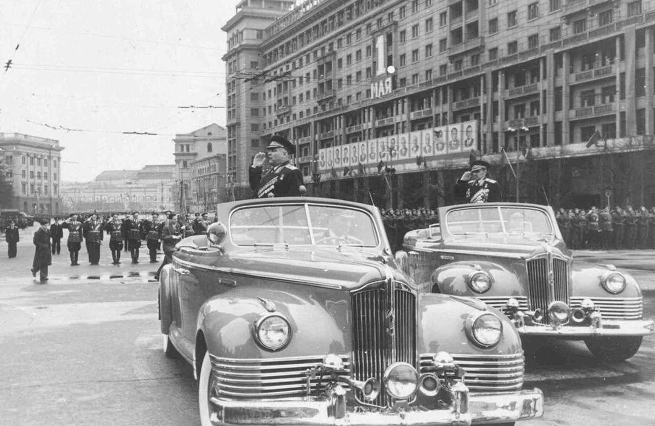 Парадные иповседневные: легковые автомобили Советской Армии— фото 846556