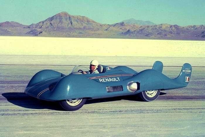 Renault Etoile Filante перед установлением мирового рекорда