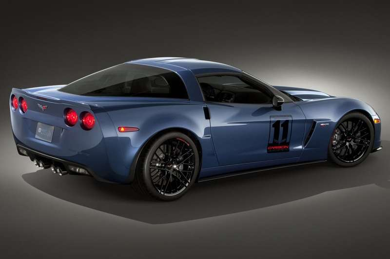 Chevrolet Corvette Z06 Carbon Limited Edition rear view