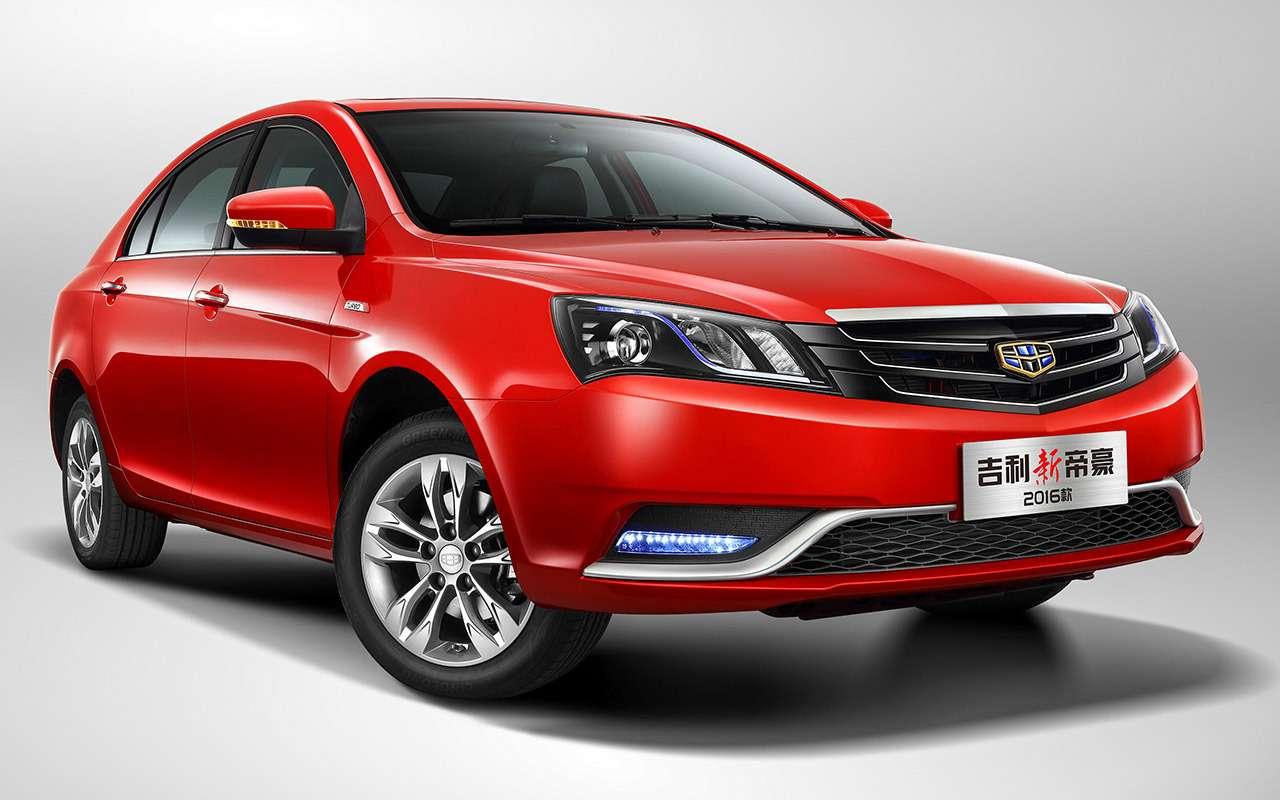 Китайские седаны от100000 руб.— 5годных вариантов— фото 1253949