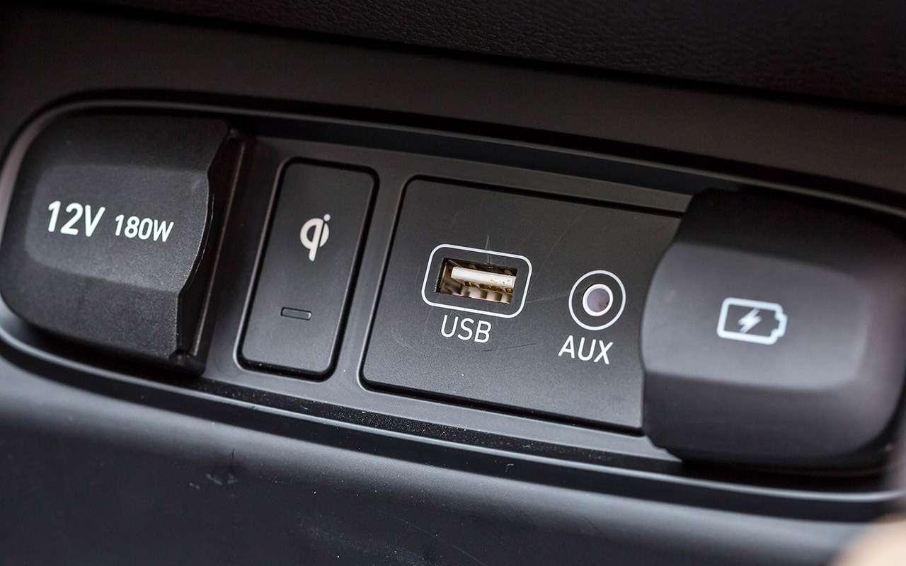 Тест нового Hyundai Santa Feскрутым автопилотом— фото 920453