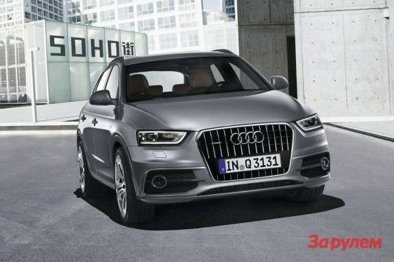 Audi Q3 side-front view