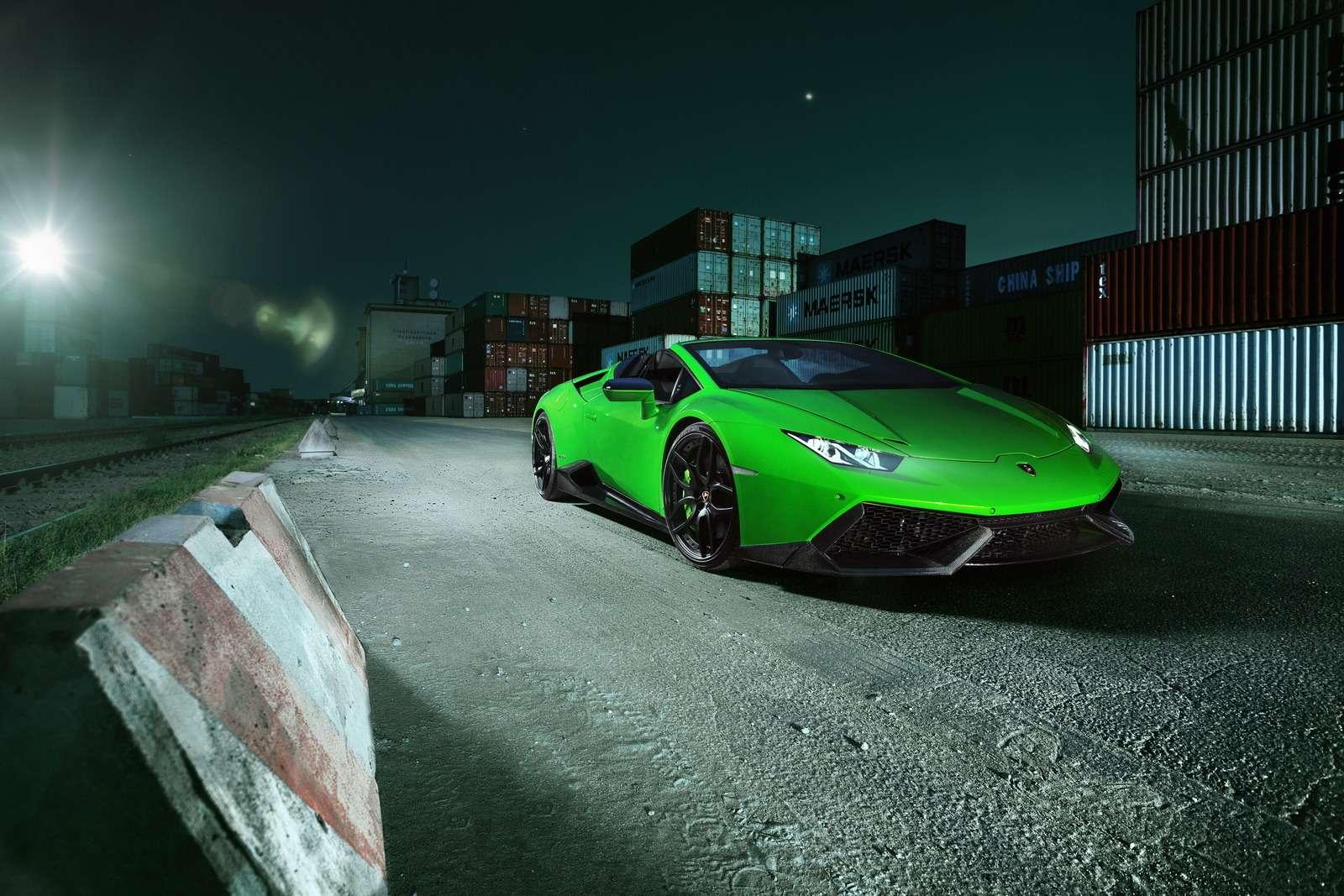 С двумя компрессорами: Lamborghini Huracan метит вгиперкары— фото 615769