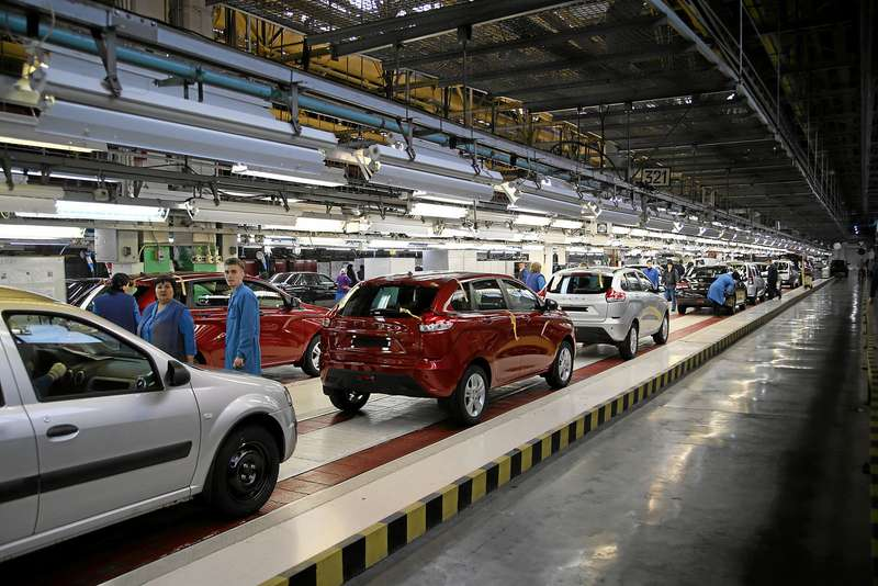 «АвтоВАЗ» планирует увеличить экспорт приблизительно наполовину в будущем 2017-ом году