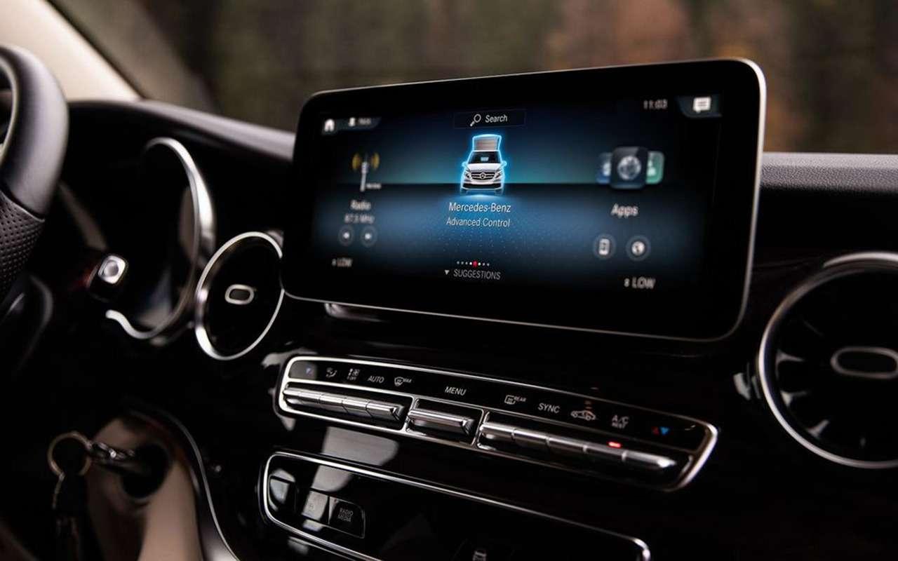 Автодом Mercedes-Benz выполняет команду: «Эй, Мерседес!»— фото 1019271