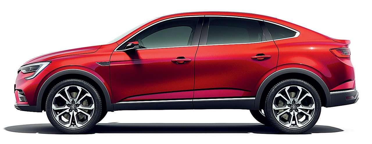 Новый кроссовер Renault Arkana: знакомимся спредсерийным прототипом— фото 899848