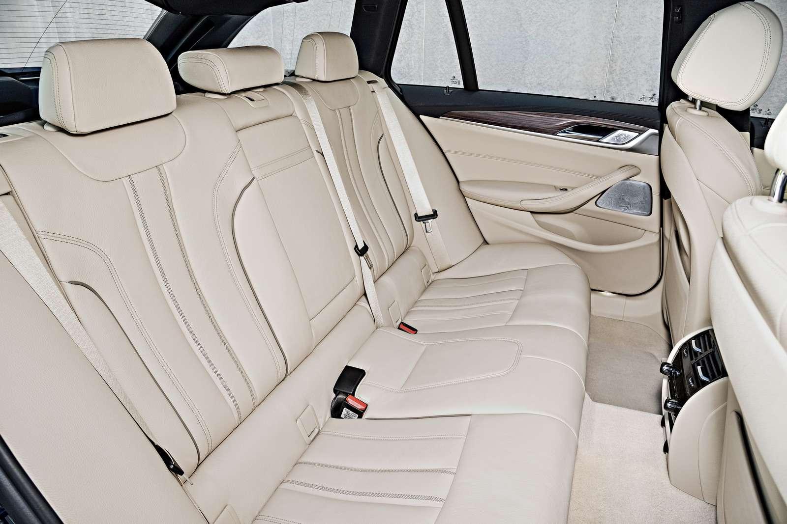 Новая «пятерка» BMW— теперь искузовом универсал— фото 701209