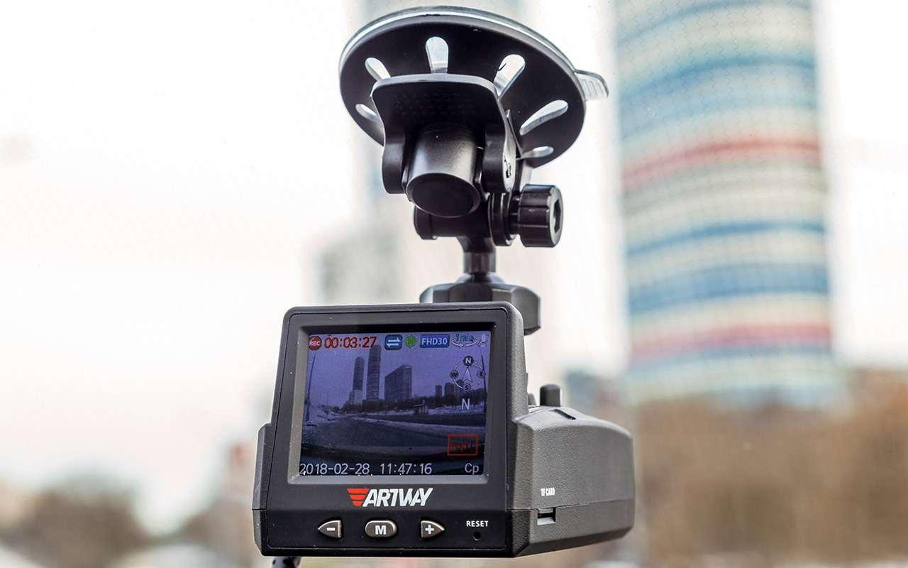 Видеорегистраторы срадар-детектором— бюджетные против дорогого— фото 862313