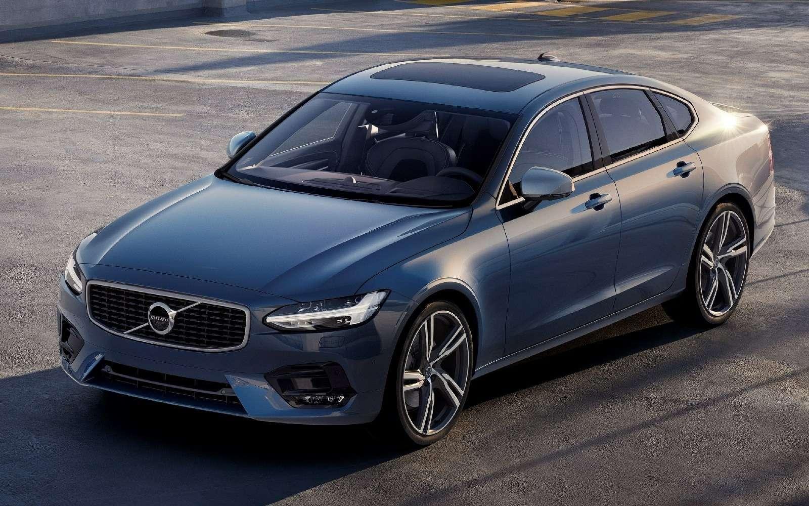 Volvo подготовила дляфлагманской модели спортпакет R-Design— фото 600930