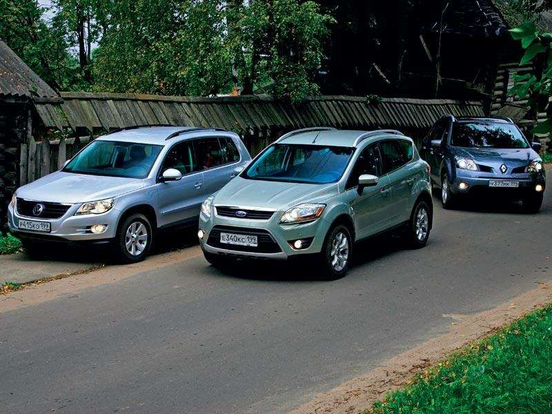 Тест Renault Koleos, Ford Kuga, Volkswagen Tiguan: Экспресс наМышкин— фото 89403