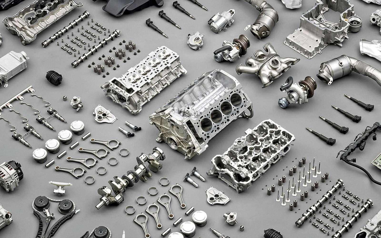 Двигатель вразборе