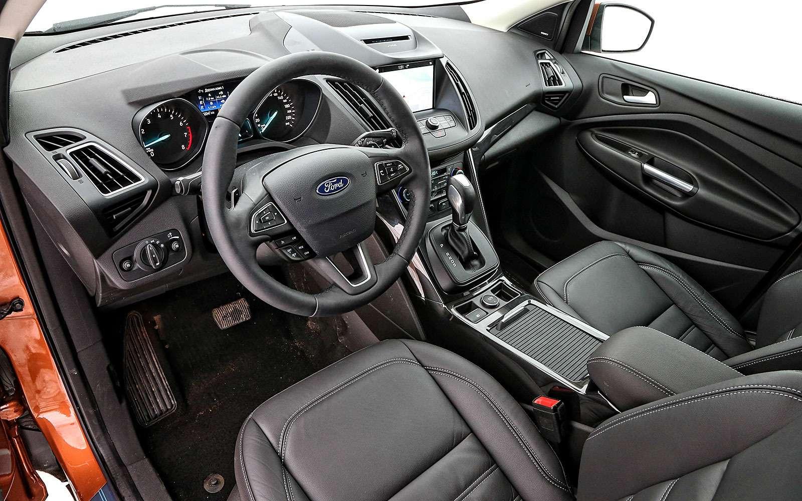 Обновленный Ford Kuga: дочего недошли руки?— фото 738243