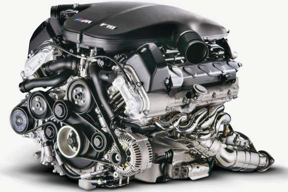 BMW V10 5.0 naturally aspirated engine