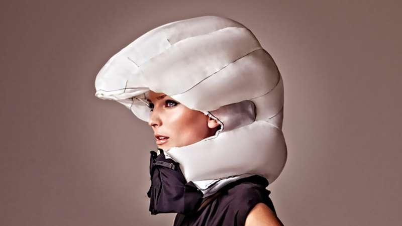 Подушка безопасности длявелосипедиста