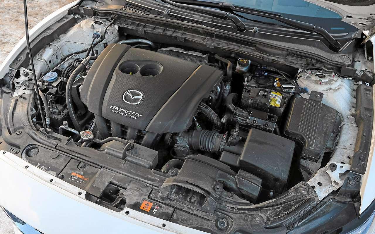 Skoda Octavia, Kia K5, Mazda 6— большой тест— фото 1221387