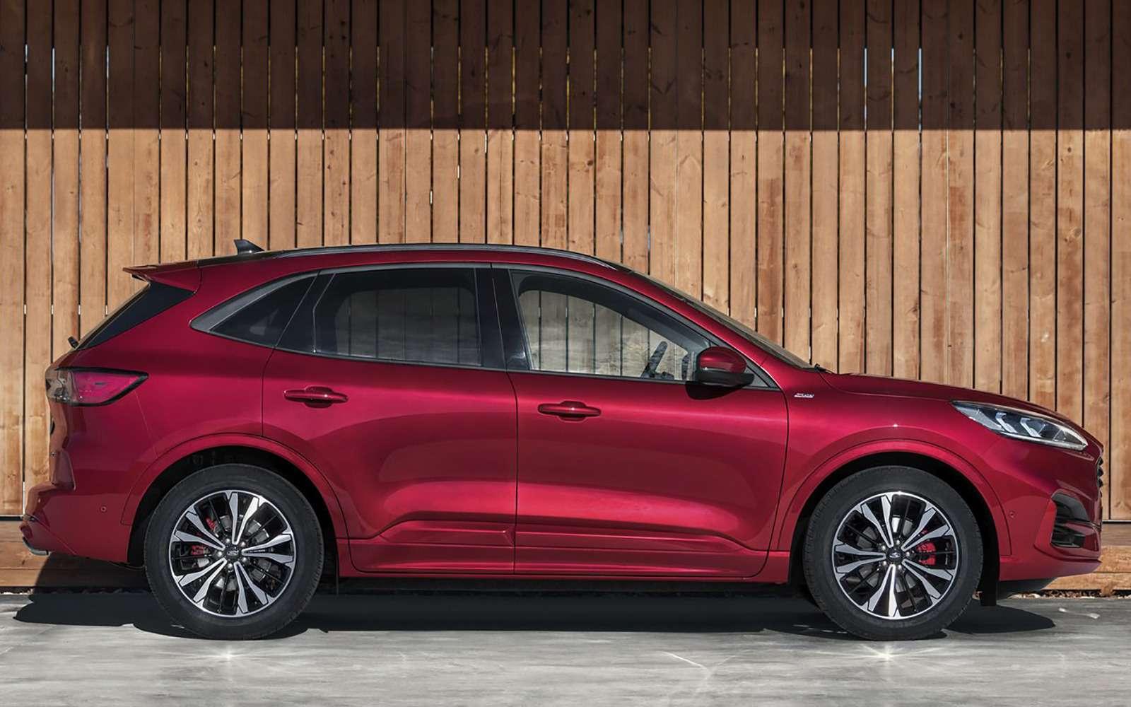 Ford показал новую Kuga. Красивая, мощная, экономичная. Недлянас— фото 962793