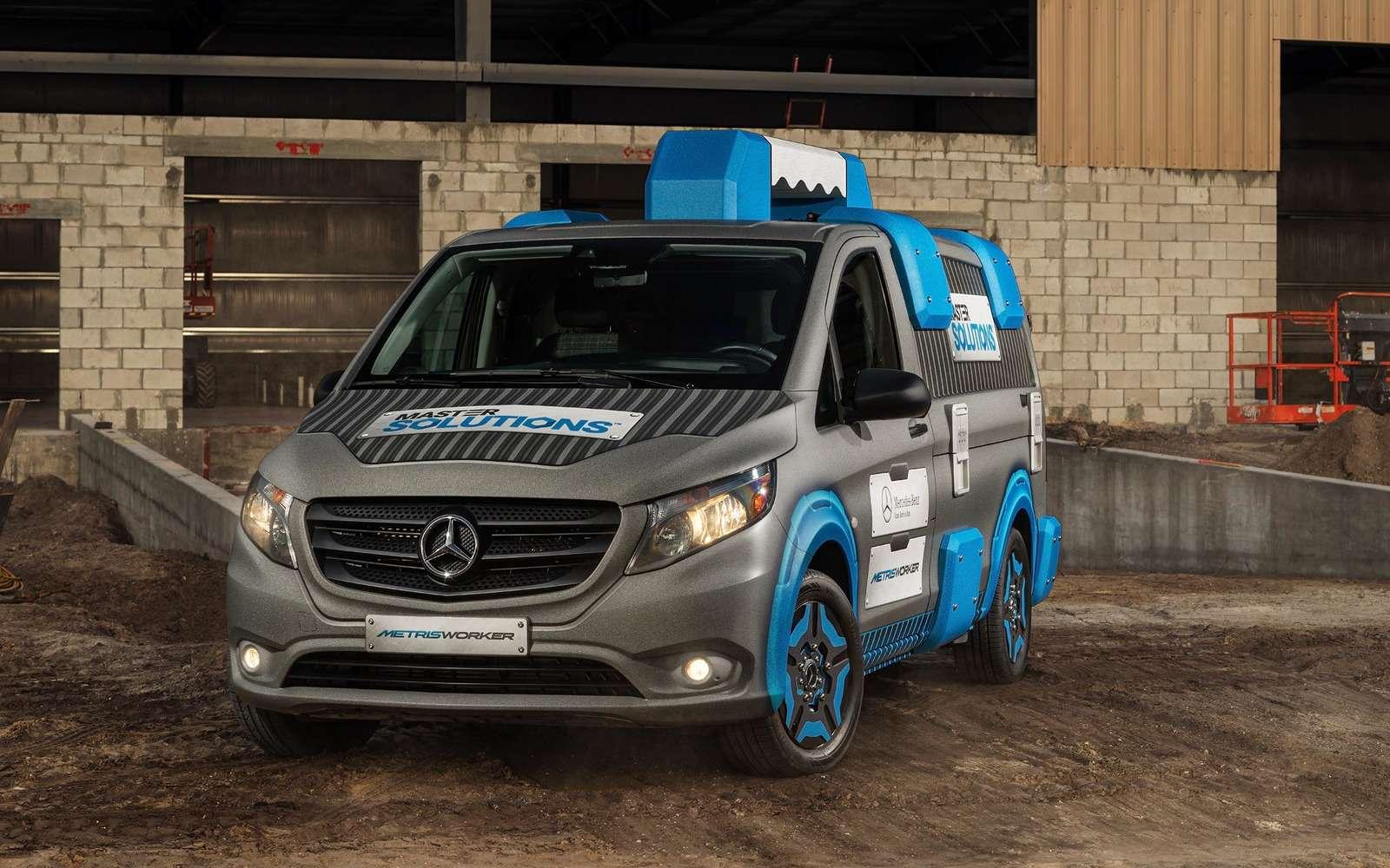 Чемодан сручкой: Mercedes-Benz Vito превратили вмечту автомеханика— фото 705791